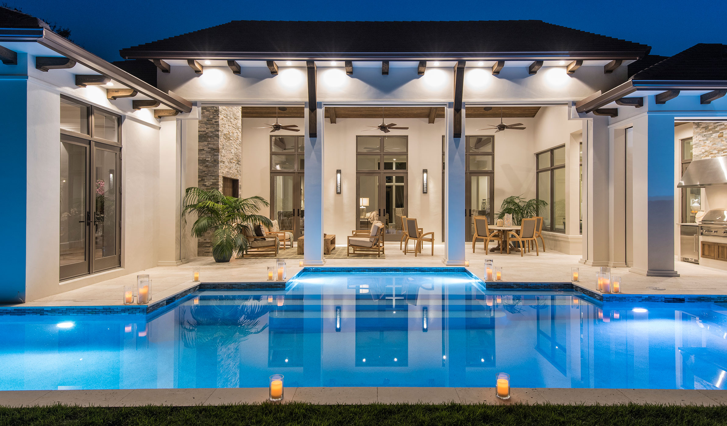 Calusa bay design interior design naples fl for Pool design naples fl